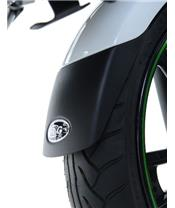 R&G RACING Front Fender Extension Black Triumph Street Twin