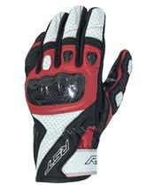 RST Stunt III CE Gloves Leather/Textile Red Siz