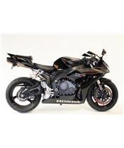 Tampons de protection R&G RACING Aero noir Honda CBR1000RR Fireblade
