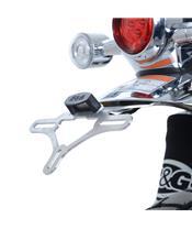 R&G RACING Licence Plate Holder Silver Honda Monkey