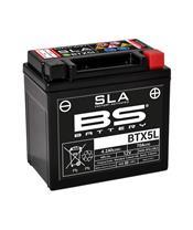 Batterie BS BATTERY BTX5L SLA sans entretien activée usine