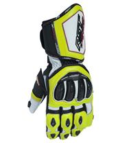 RST Tractech Evo R CE Gloves Leather Flo Yellow Siz