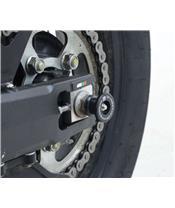 Protection de bras oscillant R&G RACING type diabolo noir Honda CRF1000L Africa Twin