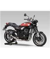 Silencieux YOSHIMURA R-77S inox noir/casquette carbone Kawasaki Z900RS/Cafe