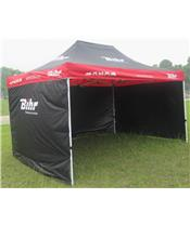 BIHR Home Track Race Tent 4.5x3m with 3 Removable Side Panels