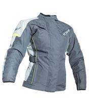 RST Ladies Gemma Jacket Textile Grey/Flo Yellow Size X