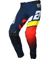 ANSWER Elite Korza Pants Midnight/White/Pro Yellow/Red Size 34