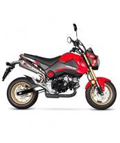 Schalldämpfer Scorpion Serket Red Power konisch Honda 125 M SX