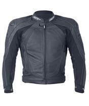 RST Blade II Jacket Leather Black Size S