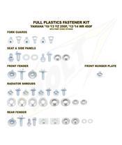 Complete set of Bolt plastic screws for Yamaha YZ250F/W R450F
