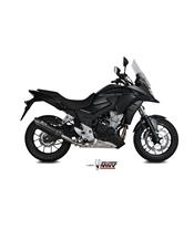 Silencieux MIVV Suono inox noir casquette carbone Honda CB500F