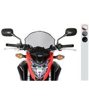 """Saute-vent MRA """"NSM"""" Spoiler """"NSM"""" clair Honda CB500F"""