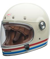Casque BELL Bullitt DLX Stripes Gloss Pearl White