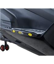 R&G RACING Footboard Slider Black Honda X-Adv