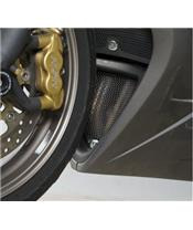 R&G RACING Downpipe Grille Black Triumph Daytona 675