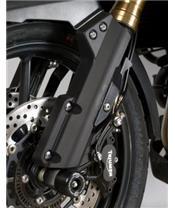 R&G RACING Fork Protectors Black Triumph Tiger 1200