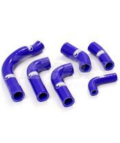 Kit tubos radiador Samco Husqvarna azul HUS-19-BU