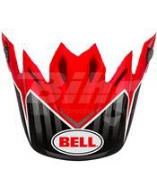 VISERA BELL MOTO-9 PINNED ROJO