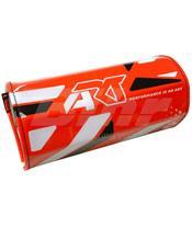 Esponja protetora de guiador ART sem barra, vermelha