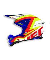 UFO Diamond Helmet White/Blue/Yellow/Red