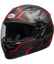 BELL Qualifier Helmet Stealth Camo Red