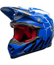 BELL Moto-9 Flex Helmet Fasthouse DID 20 Gloss Blue/White