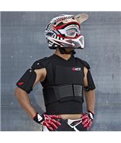 Gilet de protection UFO Cyborg avec ceinture noir