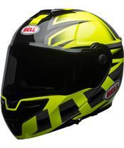BELL SRT Predator Helm Modular Gloss Hi-Viz Green/ Black G