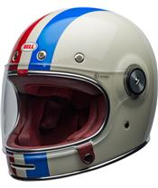 BELL Bullitt DLX Helm Command Gloss Vintage White/Red/Blue Größe