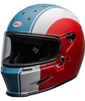 BELL Eliminator Helm Slayer Matte White/Red/Blue Größe