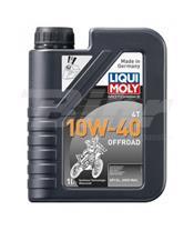 Garrafa de 1L óleo Liqui-Moly sintético 10W-40 Off road