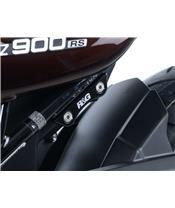 Cache orifice repose-pied gauche R&G RACING noir Kawasaki Z900RS