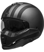 Casco Bell BROOZER FREERIDE Gris Mate/Negro, Talla L
