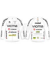 Camisola manga comprida Vicma Bike Team 2015 tamanho S