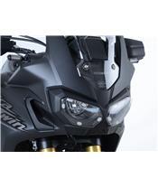 R&G RACING Headlight Shield Translucent Honda Africa Twin 1000