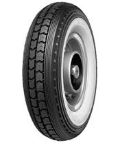 CONTINENTAL Tyre LB WW White wall 3.00-12 M/C 47J TT