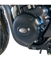 R&G RACING Left Cranckase Cover Black Kawasaki Z900RS