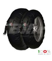 Aquecedores de pneus CAPIT Suprema Spina Cor preta (17'' - Frente 120/Trás 180)