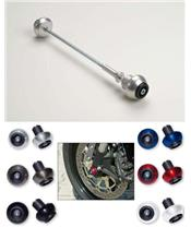REAR CRASH BALL FITTING KIT FOR BUELL XB9 AND XB12 2002-05 BLACK