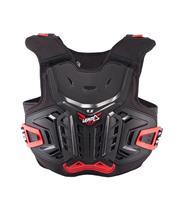 LEATT 4.5 Chest Protector Black/Red Size Junior 134-146cm