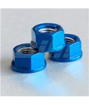 Tuerca de Aluminio Pro-Bolt 10mm azul LSPN10B