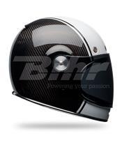 Casco Bell Bullitt Carbon Pierce Negro/Blanco Talla XS
