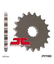 Pignon JT SPROCKETS 18 dents acier standard pas 530 type 1180