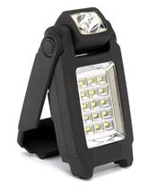 ZECA LED Flashlight w/ adjustable support 2W 140 Lux