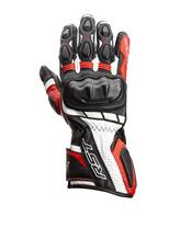 RST Axis CE Gloves Leather Red Size S Men