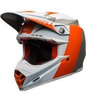 Casque BELL Moto-9 Flex Division White/Orange/Sand