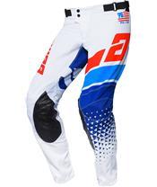 ANSWER Elite Korza Pants White/Red/Hyper Blue/Reflex Size 30