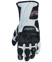 RST Delta III CE Gloves Leather White Siz