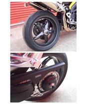Schommelarmbescherming R&G RACING voor DAYTONA TT600, SPEED FOUR