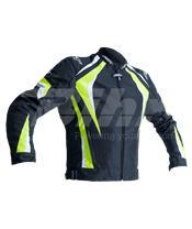 Chaqueta textil (Hombre) RST R-18 Amarillo Flúor, Talla 2XL/58